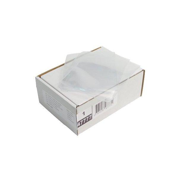 Plast etui A7 47777, 0,13mm - 100 stk