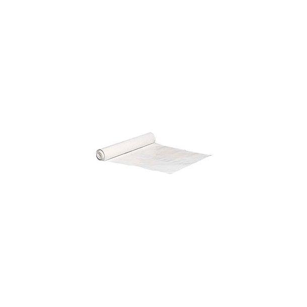 Affaldssække 100 ltr.70x110 cm, Hvid 50 my - 1 rll