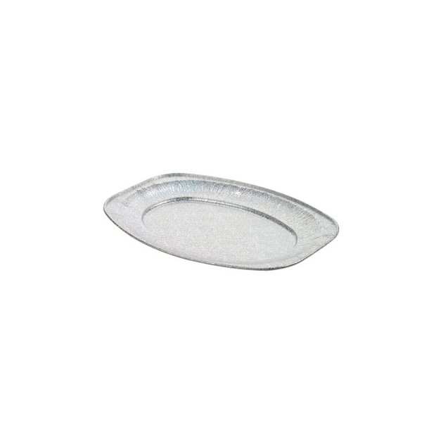 Alufade oval 35x24 cm - 10 stk