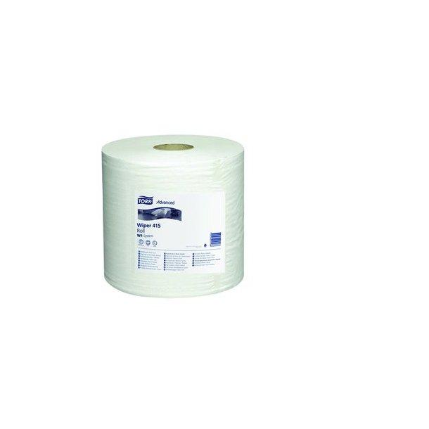 Aftørringspapir Tork Stand W4, Hvid, 1-lag, 1180 M - 1 rulle