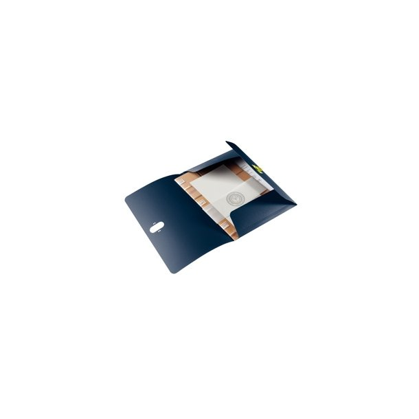 3 klap mapper - Leitz recycle PP A4 Blå 10 stk