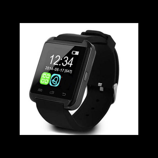 Smartwatch ur til Android sort